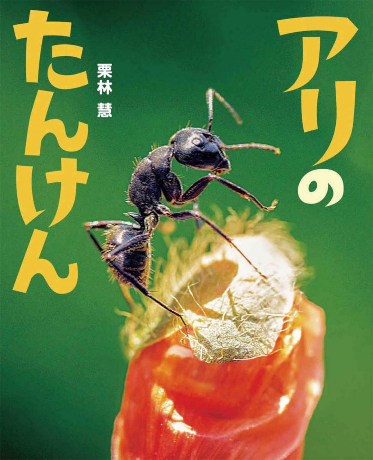 絵本「アリのたんけん」の表紙