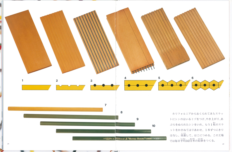 絵本「いっぽんの鉛筆のむこうに」の一コマ