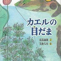 絵本「カエルの目だま」の表紙