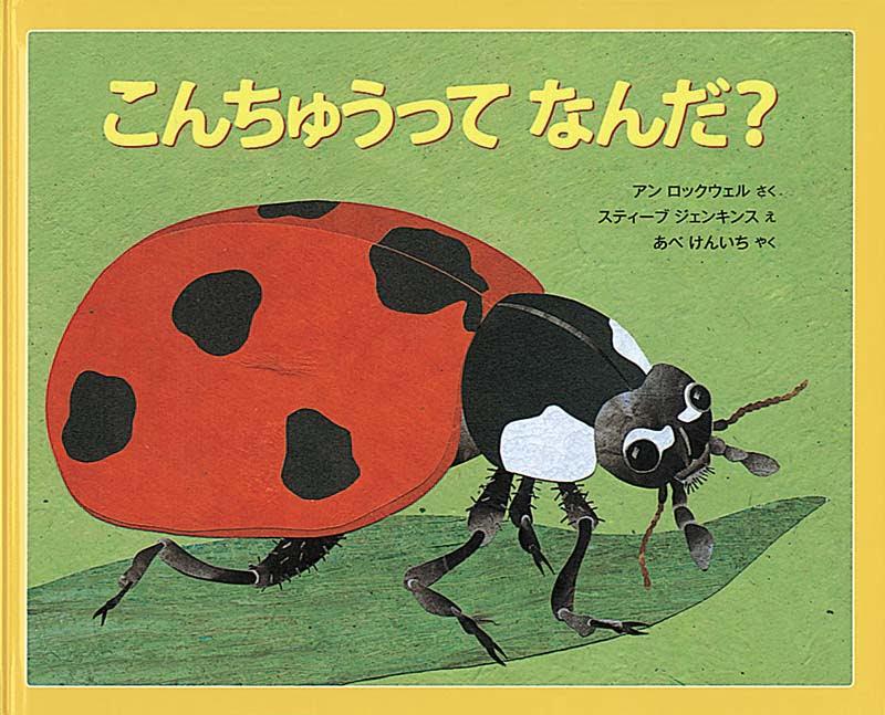 絵本「こんちゅうって なんだ?」の表紙