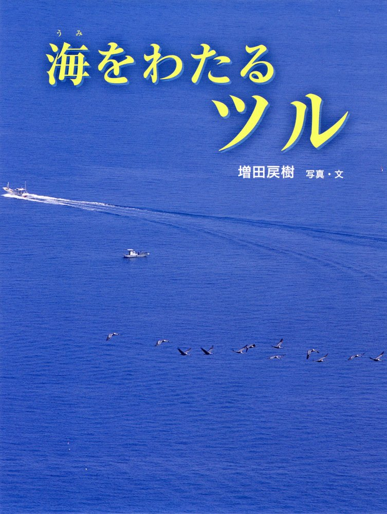 絵本「海をわたるツル」の表紙