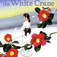 絵本「The Story of the White Crane 鶴女房」の表紙