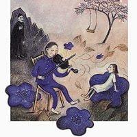 絵本「黒いバイオリン」の表紙