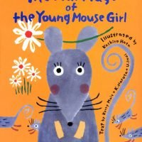 絵本「The Marriage of the Young Mouse Girl ねずみの嫁入り」の表紙