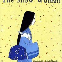 絵本「The Snow Woman 雪女」の表紙