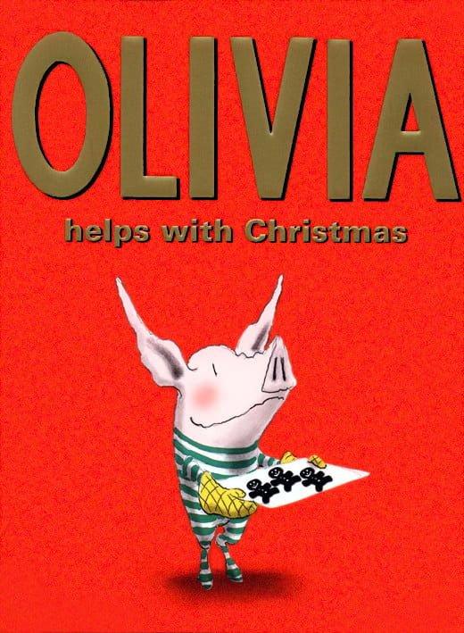 絵本「オリビア クリスマスのおてつだい」の表紙