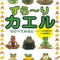 絵本「ずら〜り カエル」の表紙