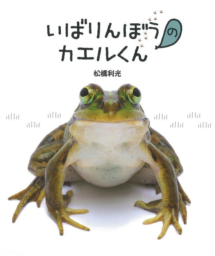 絵本「いばりんぼうのカエルくんとこわがりのガマくん」の表紙