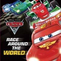 """絵本「カーズ """"Race around the World""""」の表紙"""
