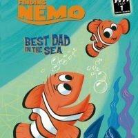 """絵本「ファインディング・ニモ """"Best Dad in the Sea""""」の表紙"""