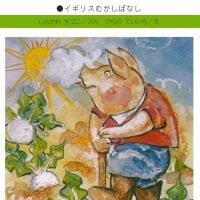 絵本「三びきのこぶた」の表紙