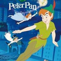 """絵本「ピーター・パン """"Peter Pan""""」の表紙"""