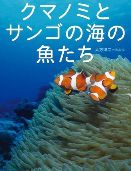 絵本「クマノミとサンゴの海の魚たち」の表紙