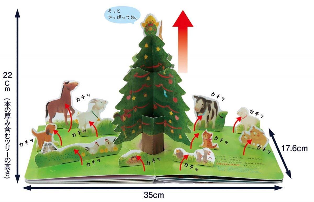 絵本「ぴよちゃんとメリークリスマス」の一コマ