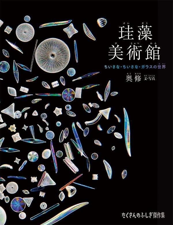 絵本「珪藻美術館」の表紙