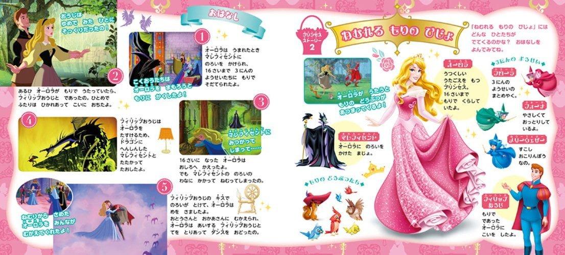 絵本「ディズニープリンセス あいうえお」の一コマ14