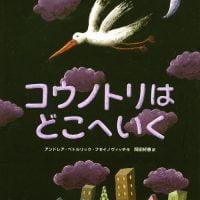 絵本「コウノトリは どこへいく」の表紙