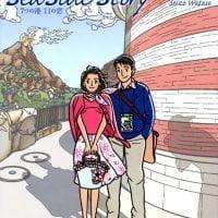 絵本「Sea Side Story 7つの港 11の恋」の表紙