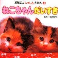 絵本「ねこちゃん だいすき」の表紙